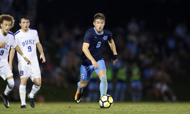 Four UNC Men's Soccer Players Included on Top Drawer Soccer's Midseason Top 100 List
