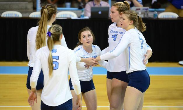 Pittsburgh Ends UNC Volleyball's Winning Streak at Five