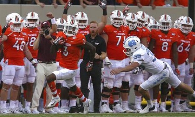 No. 14 Virginia Tech Hammers UNC Football, Hands Tar Heels Worst Loss of Fedora Era