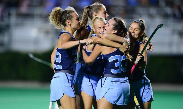 Evert's Four Goals Lead UNC Field Hockey to Win Over Liberty in Regular Season Finale