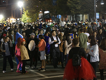Homegrown Halloween Crowd Continues Decreasing in Size