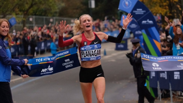 UNC Alum Shalane Flanagan Becomes First American Woman to Win NYC Marathon in 40 Years
