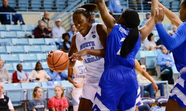 Dominant Inside Play Carries UNC Women's Hoops Past Hartford