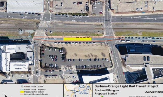 Orange County Approves New Light Rail Station in Downtown Durham