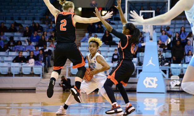 Mercer Upsets UNC Women's Basketball in Chapel Hill