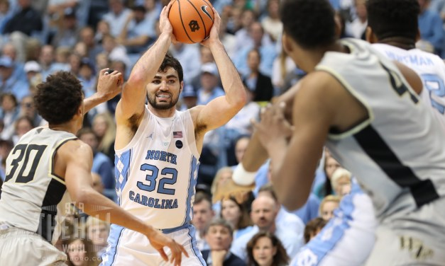 Tar Heels Hoping Maye's Career Night Against Boston College Carries Over Into Heart of ACC Play
