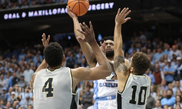 Berry's Late Floater Helps No. 13 UNC Escape Wake Forest's Upset Bid in ACC Opener