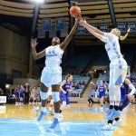 Women's Hoops: Janelle Bailey Shines as UNC Holds Off Wake Forest in OT