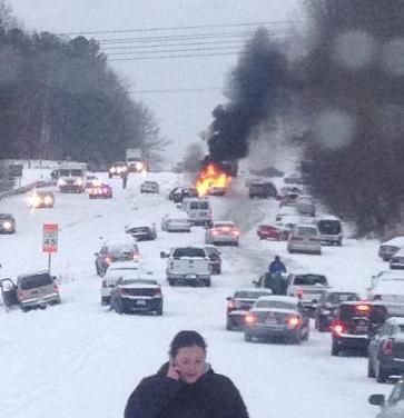 A Southern Snow Day