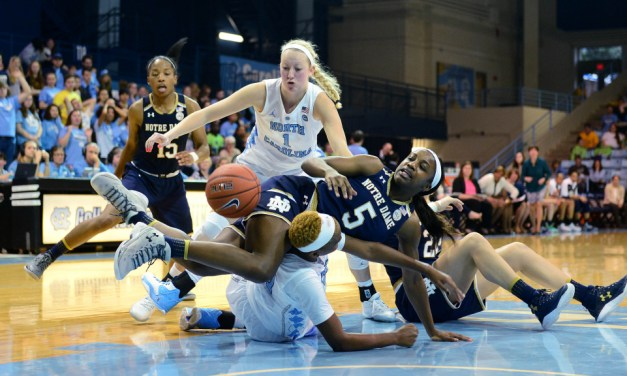 UNC Women's Hoops Suffers Blowout Loss at Hands of No. 5 Notre Dame