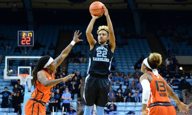 Paris Kea's 31 Points Not Enough to Carry UNC Women's Basketball Past Miami