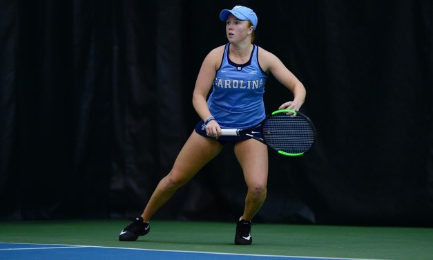 UNC Women's Tennis Moves Past Ole Miss in ITA National Indoor Championship