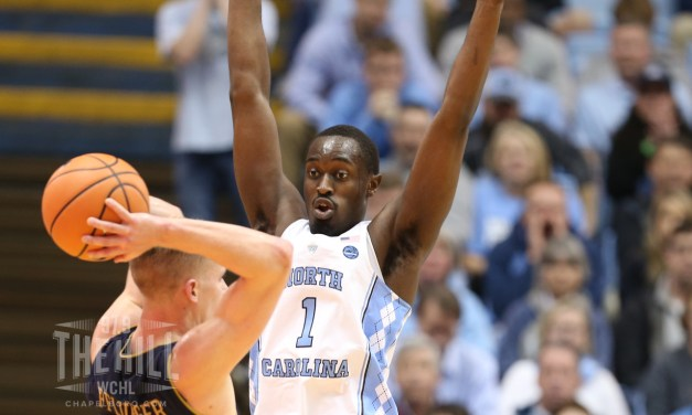 Pinson Helps No. 14 UNC Pull Away From Notre Dame Down the Stretch, Pick Up Third ACC Win in Five Days