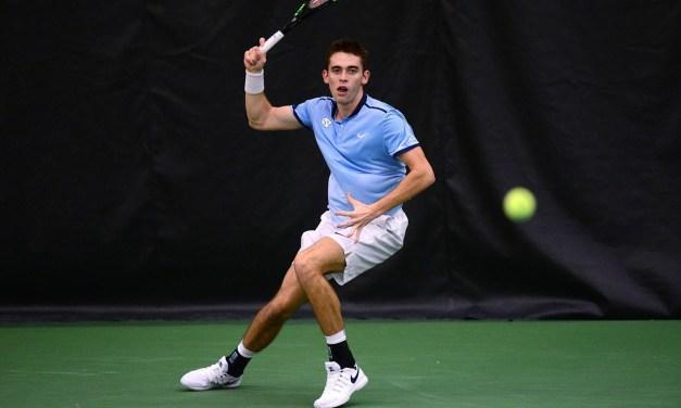 Men's Tennis: Tar Heels Knock Off No. 22 Notre Dame to Earn Spot in ITA National Indoor Quarterfinals