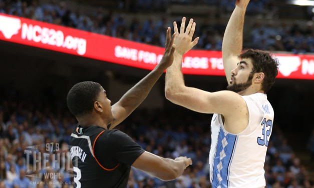 Luke Maye Chosen as a Candidate for Karl Malone Award