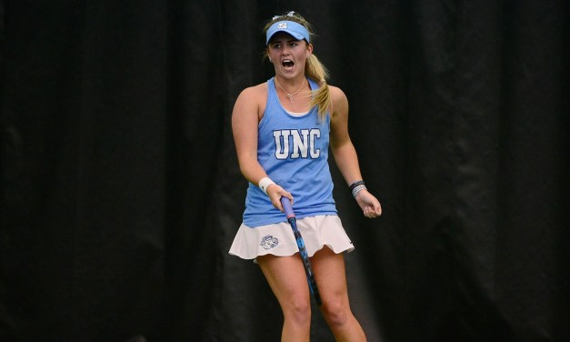 No. 1 Ranked UNC Women's Tennis Team Comes From Behind to Defeat Miami