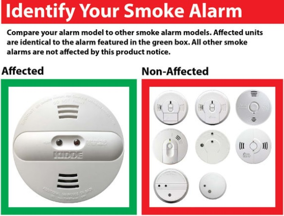 Mebane Company Kidde Recalls 500,000 Smoke Detectors