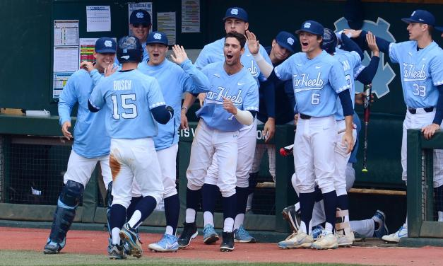 UNC defeats Stetson 7-4, One Win Away from College World Series