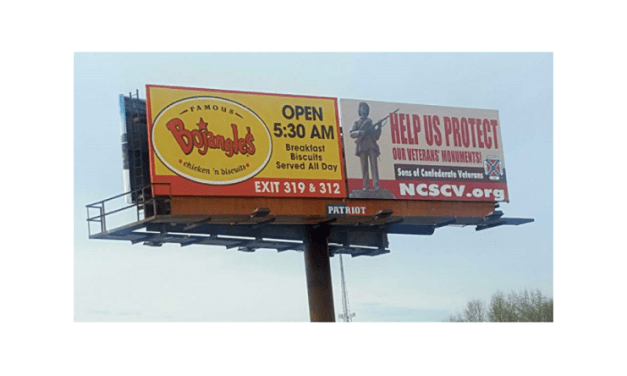 Sons of Confederate Veterans Places Pro-Confederate Monument Billboard on I-40