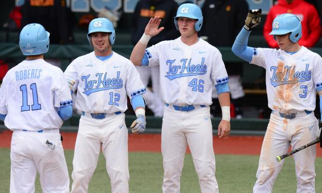 Tar Heels Use Four Runs in 12th Inning to Defeat Miami on the Road in Series Opener