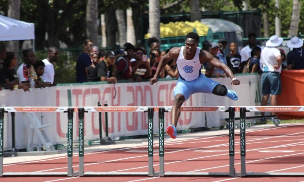 UNC's Kenny Selmon Posts Best 400-Meter Hurdles Time in the Nation, Fifth-Best in World