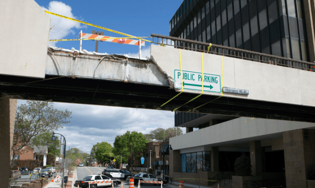 No Charges After Truck Strikes Chapel Hill Pedestrian Bridge