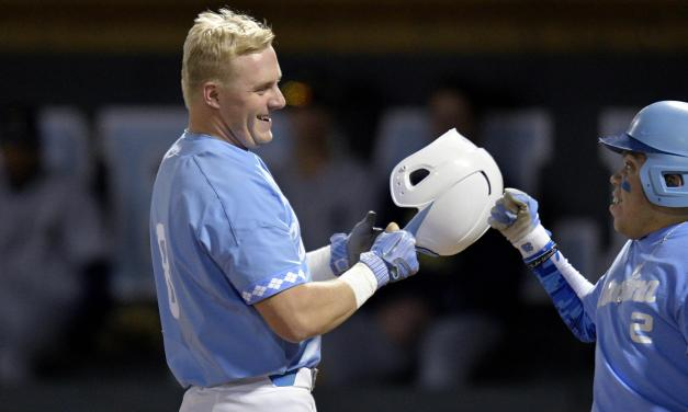 Tar Heels Homer Three Times in Series-Opening Victory Over Georgia Tech