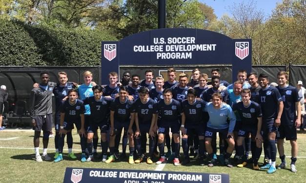 Tar Heel Men's Soccer Wins Inaugural U.S. Soccer Spring College Program Championship