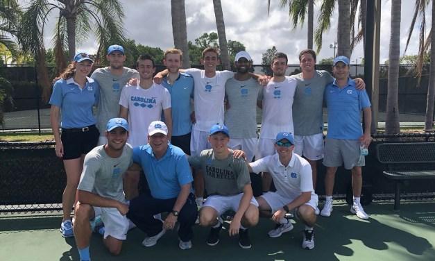 Tar Heels Sweep Miami 4-0 to Claim Share of ACC Men's Tennis Regular Season Crown