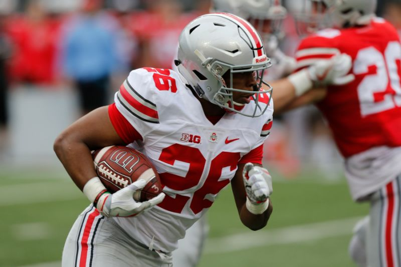 Ohio State RB Antonio Williams Announces Transfer