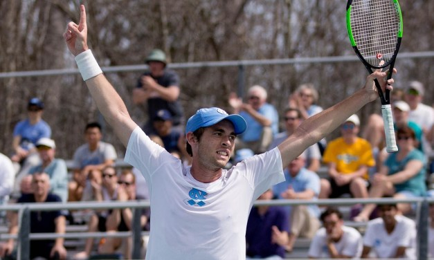Benjamin Sigouin Named ACC Men's Tennis Player of the Week