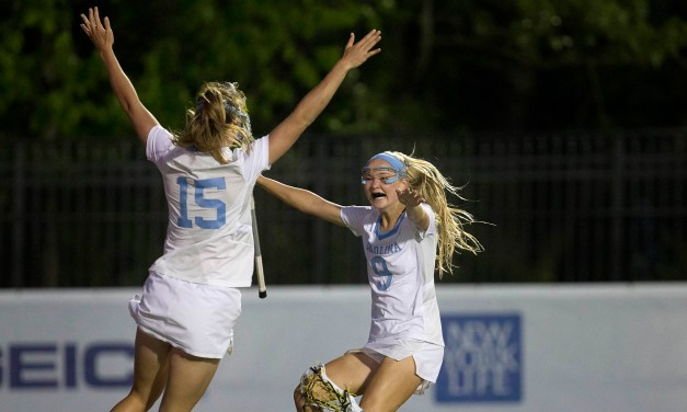Tar Heels Advance to ACC Women's Lacrosse Tournament Final After Defeating Virginia Tech