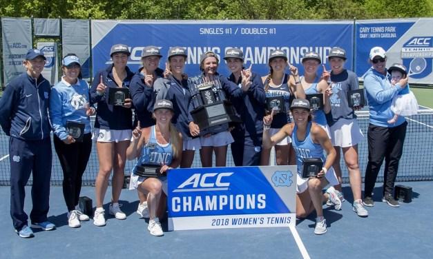 UNC Women's Tennis Defeats Top-Seeded Duke, Picks Up Third Straight ACC Tournament Crown