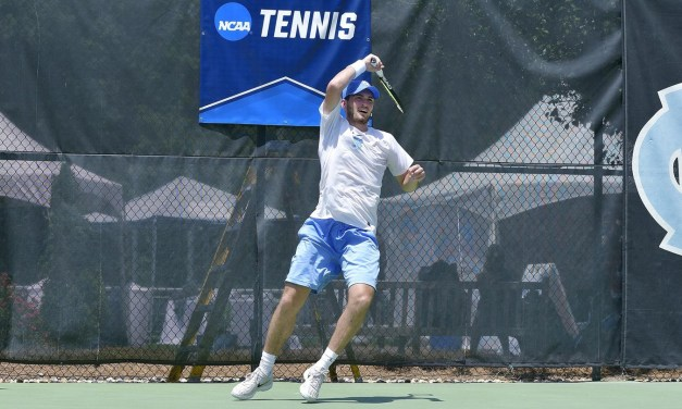 UNC Men's Tennis Sweeps Campbell in NCAA Tournament First Round Match