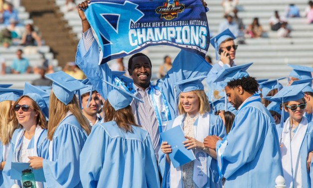 UNC Champion Theo Pinson Graduates with Style