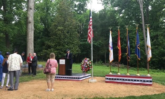 Orange County Veterans Memorial Holds Inaugural Memorial Day Service