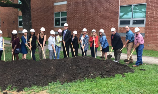 Community Celebrates Chapel Hill High School Groundbreaking