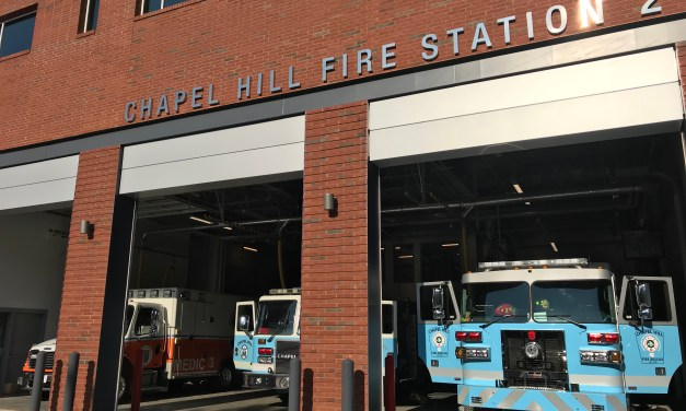 Chapel Hill Holding Dedication Ceremony for New Fire Station