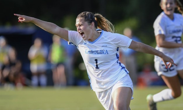 Trio of Second-Half Goals Helps UNC Women's Soccer Rally Past Illinois for Season-Opening Victory
