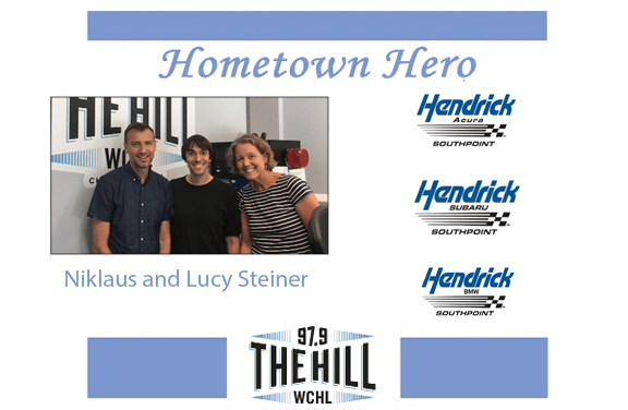 Hometown Hero: Niklaus and Lucy Steiner
