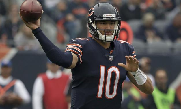 Mitchell Trubisky Throws Six Touchdowns in Chicago Bears' Win Over Tampa Bay Buccaneers