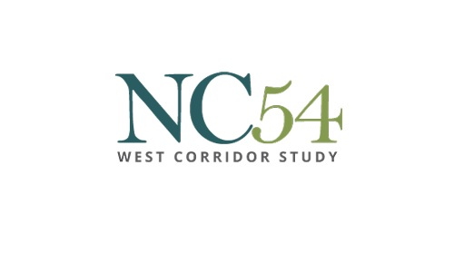 NC-54 West Corridor Study Completed