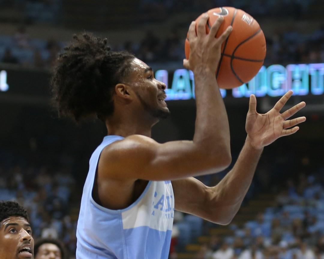 Men's Basketball: UNC Falls to Villanova in Controlled Scrimmage - Chapelboro.com