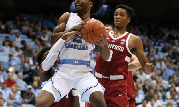 Dominant First Half Propels No. 7 UNC to 90-72 Victory Over Stanford in Home Opener