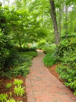 Lovejoy-Henkel Garden Brick Path