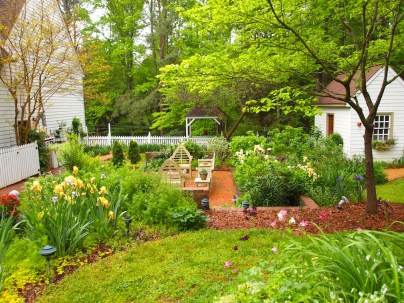 Norwood Garden Back Patio