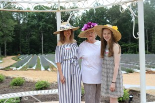 3 generations of gardeners - Elaine Locke, Jane Lamm, Morgan Locke