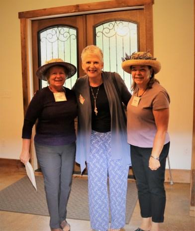 Brenda Lazarus, Amanda, Debbie West