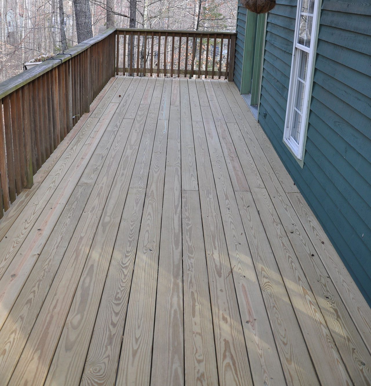 Decking Repair After
