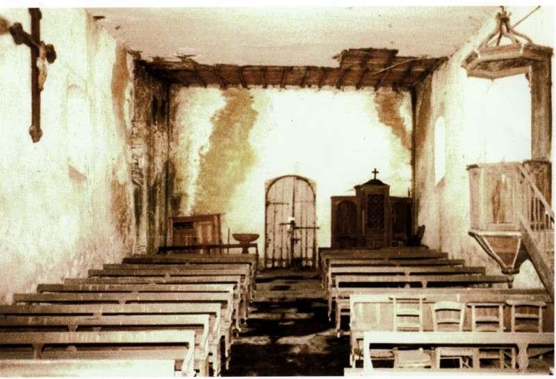 chapelle des arts avant renovation